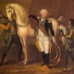 Charles de Meuron mit seinen Sklaven Vendredi und Pedro