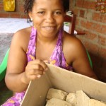 Ines aus Vila Nova produziert Babaçu-Seife