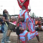Akrobatik Gruppe